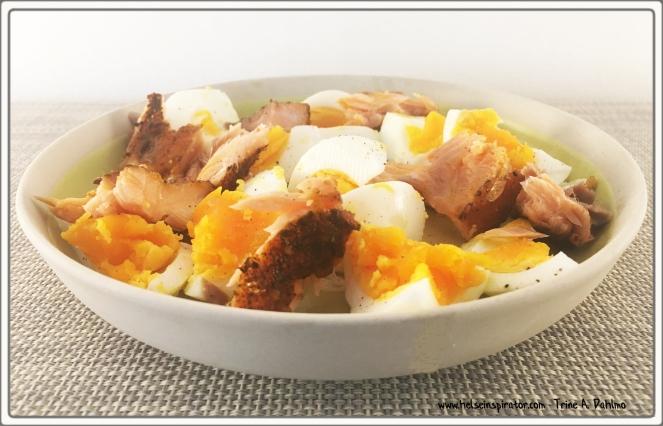 Egg-KaldrøktLaks-Olivenolje