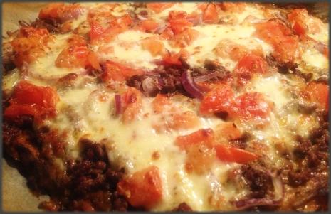 Pizza-Innrammet