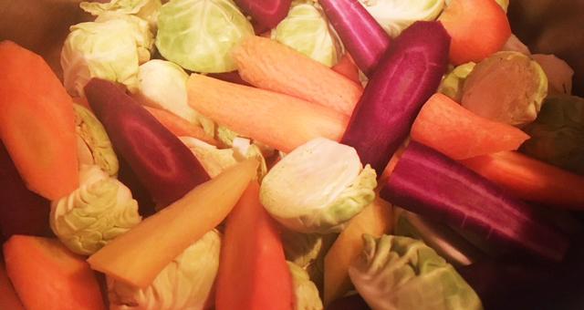 Grønnsakene