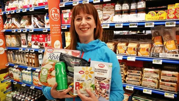 Bilde Trine med glutenfrie matvarer.jpg