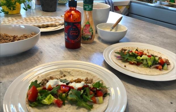 Tortilla snacks hovedbilde